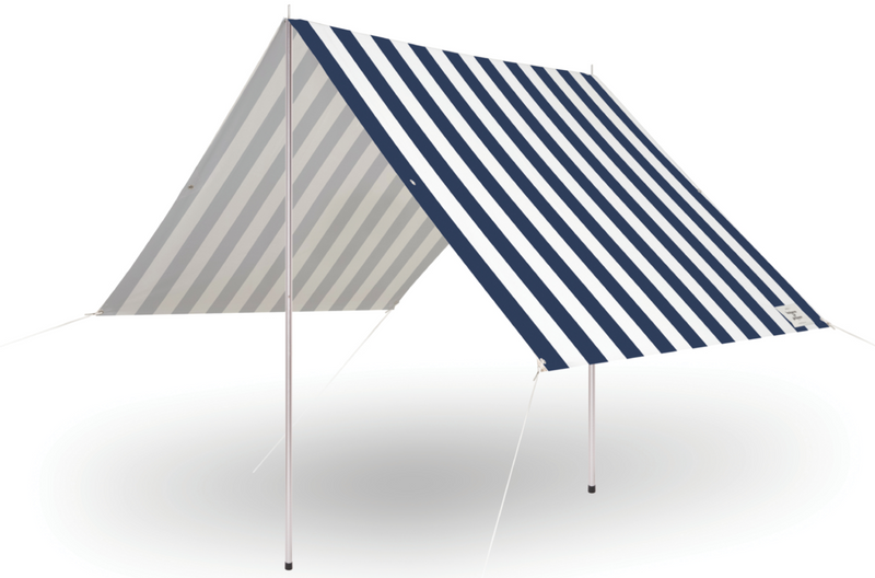 The Holiday Beach Tent - Crew Navy Stripe - Business & Pleasure Co