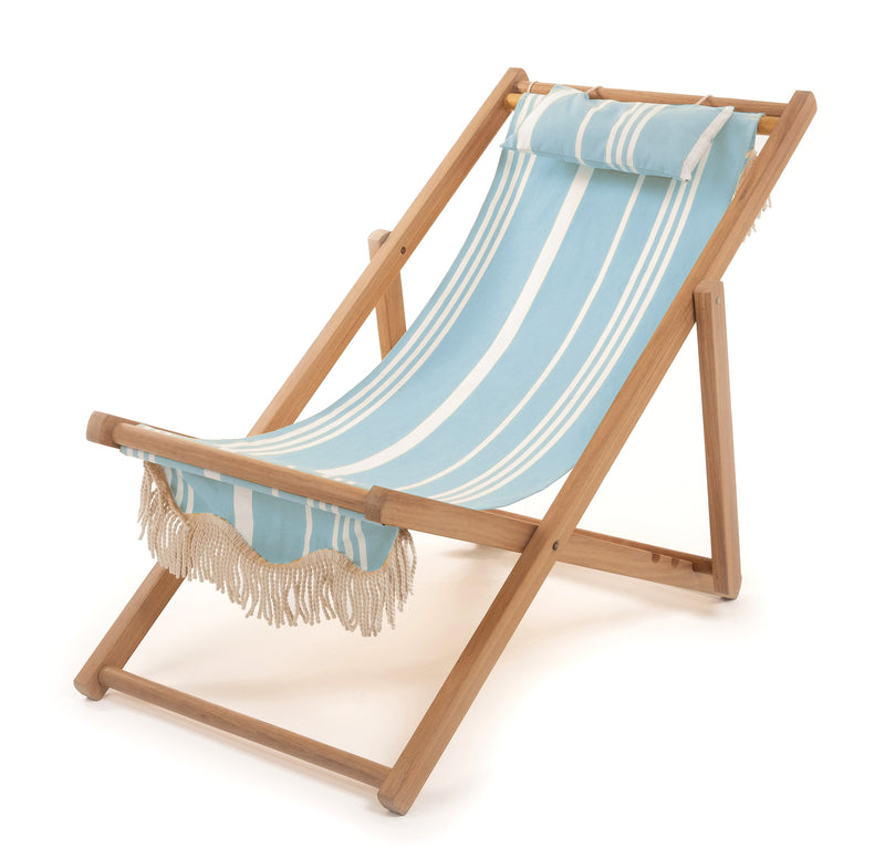 The Sling Chair - Vintage Blue Stripe