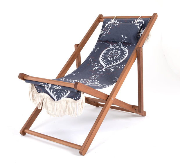 Sling Chair - Indigo Mosaic - Business & Pleasure Co