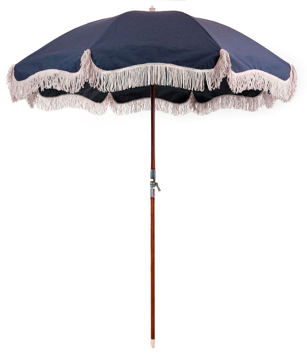 The Premium Beach Umbrella - Boathouse Navy - Business & Pleasure Co