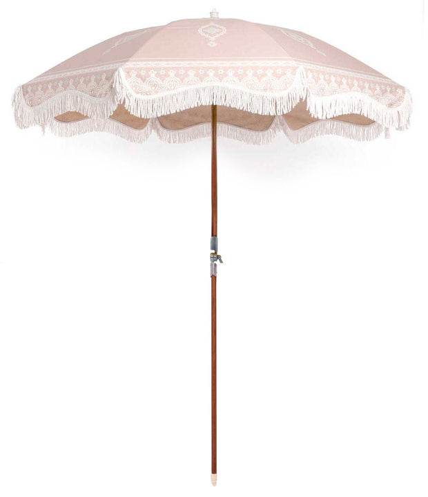 Temple Pink Premium Beach Umbrella - Business & Pleasure Co