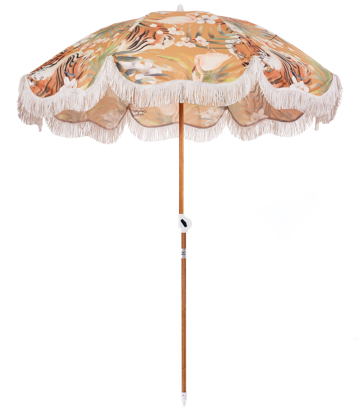 Tropical Tiger Holiday Beach Umbrella - Business & Pleasure Co