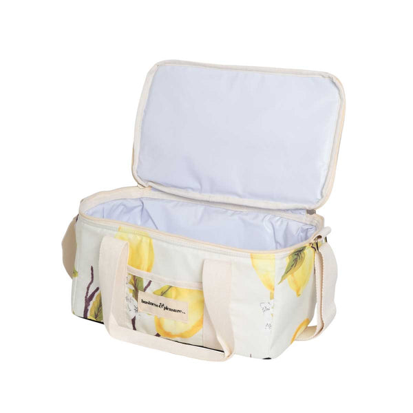 HOLIDAY COOLER BAG - VINTAGE LEMONS