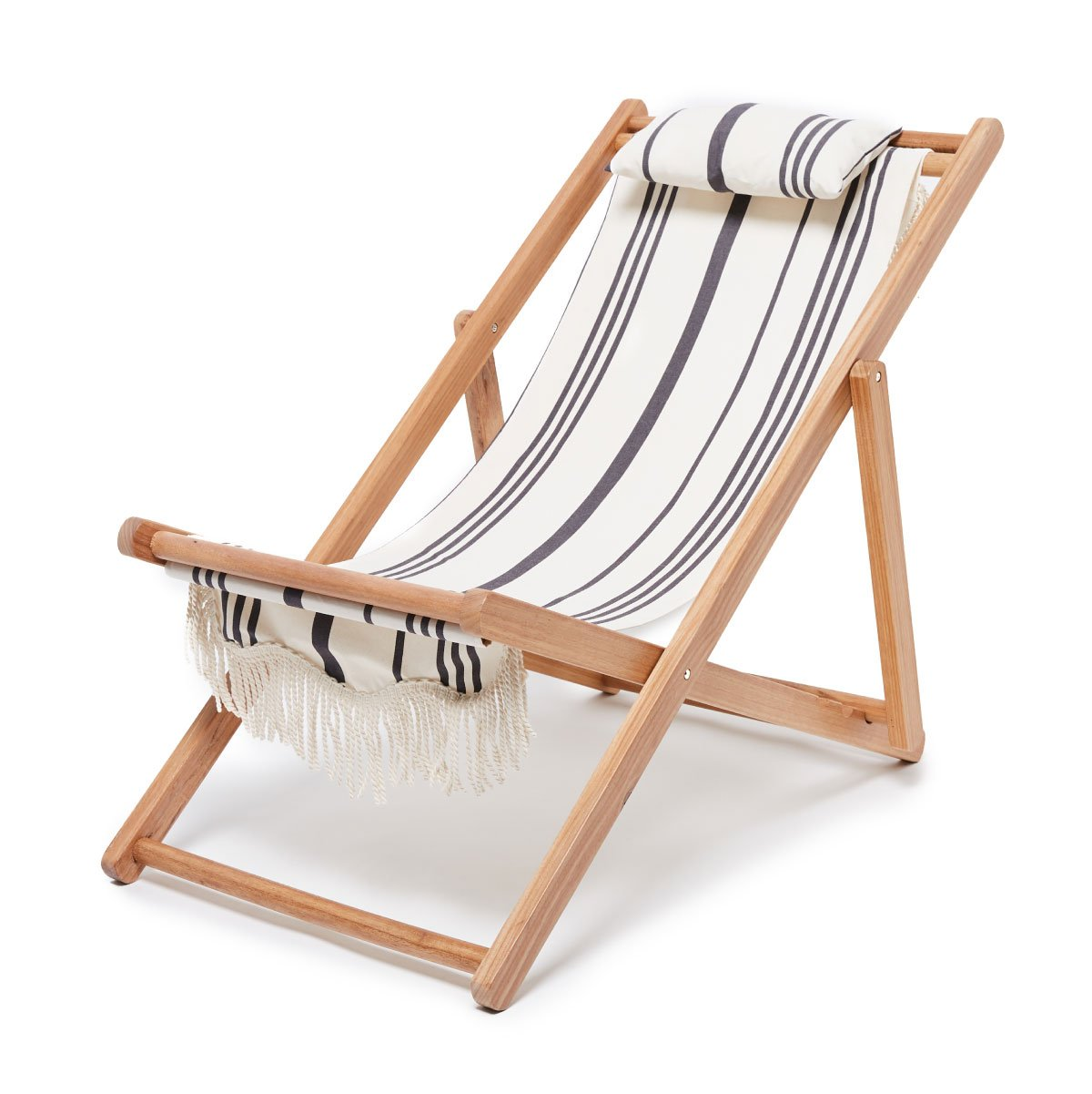 The Sling Chair - Vintage Black Stripe - Business & Pleasure Co