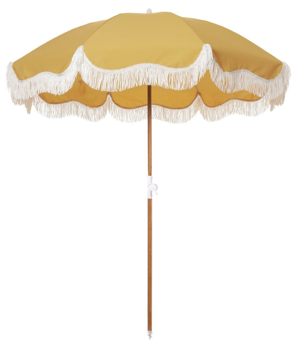 The Holiday Beach Umbrella - Vintage Gold - Business & Pleasure Co