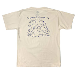 The Basque Tee - French White - Business & Pleasure Co