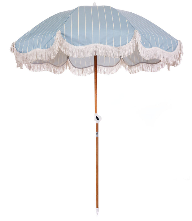 Holiday Stripe Holiday Beach Umbrella - Business & Pleasure Co