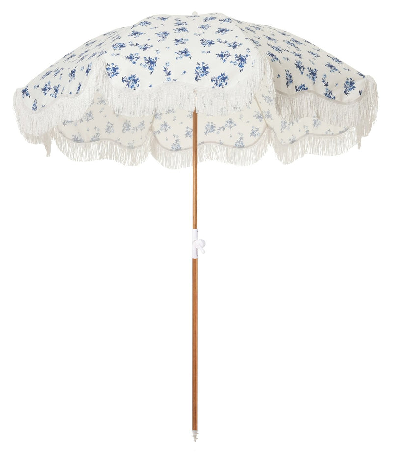 The Holiday Beach Umbrella - Stone Cold Fox Prairie - Business & Pleasure Co