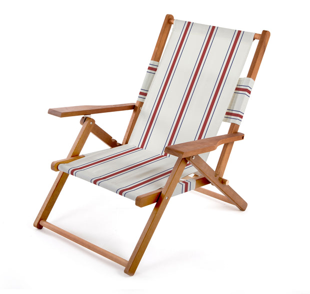 The Tommy Chair - French Stripe - Business & Pleasure Co