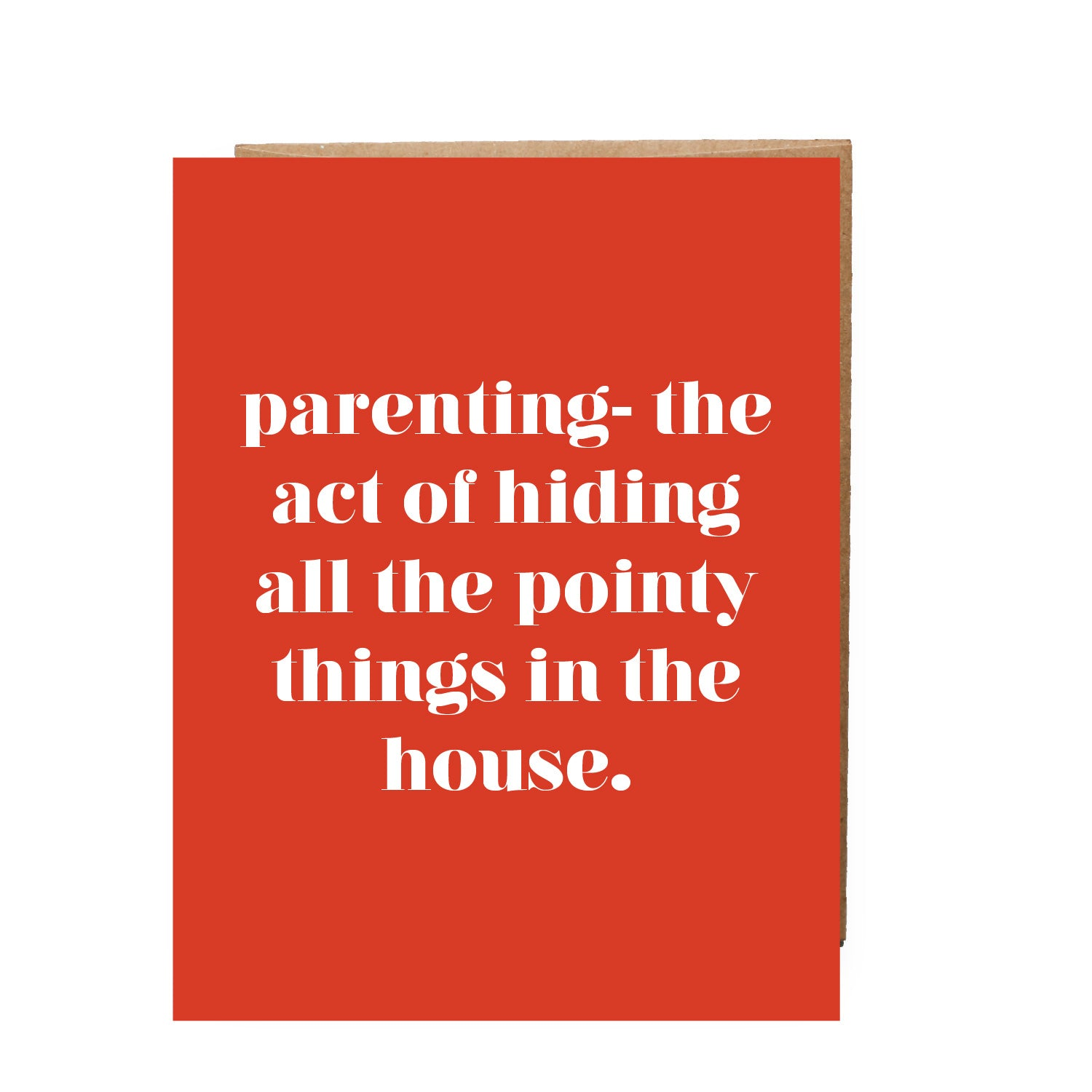 Parenting - Hiding All The Pointy Things