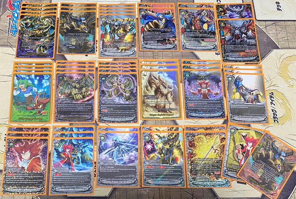"Future Card Buddyfight Constructed Deck: (Ancient World) ""MAX Dragon"""