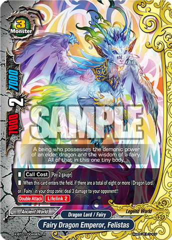 X-BT01/0049 (R) - Fairy Dragon Emperor, Felistas