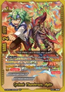 Cyclonic Thunderaxe, Agito (SP)