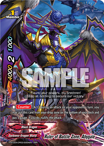 Ruler of The Battle Zone, Abygale (RRR)