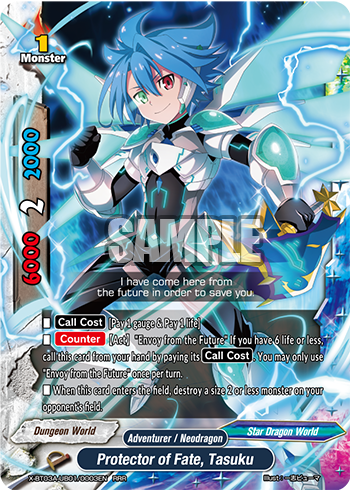 Protector of fate, Tasuku (RRR)