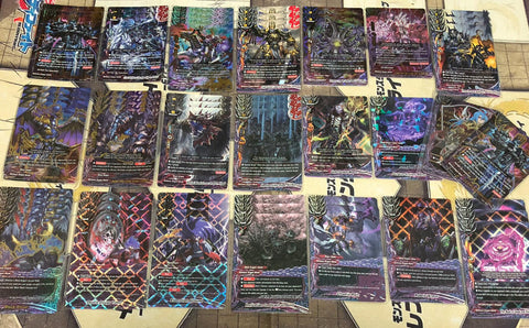 "Future Card Buddyfight Constructed Deck: (Darkness Dragon World) ""Gratos"""