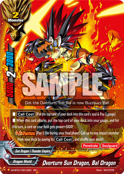 Overturn Sun Dragon, Bal Dragon (RR)
