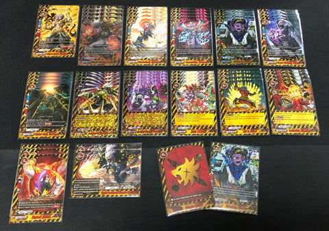 "Future Card Buddyfight Constructed Deck: (Danger World) ""GodPunk"""