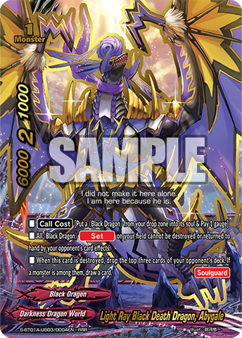 Light Ray Black Death Dragon, Abygale (RRR)
