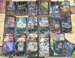 "Future Card Buddyfight Constructed Deck: (Magic World) ""Deity Dragon Tribe"""