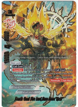"Fourth Omni Fire Lord, Burn Nova ""Re: B"" (RRR) S-BT07"