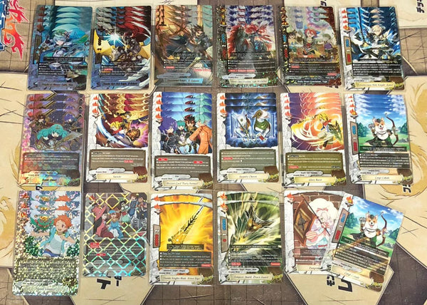 "Future Card Buddyfight Constructed Deck: (Dungeon World) ""Knights"""