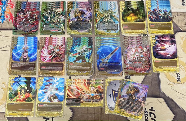 "Future Card Buddyfight Constructed Deck: (Legend World) ""Messiah Arms"""