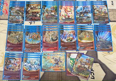 "Future Card Buddyfight Constructed Deck: (Dragon World) ""G-BOOST Will"""