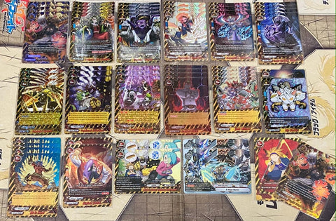 "Future Card Buddyfight Constructed Deck: (Danger World) ""Godpunk"" Full foiled!"