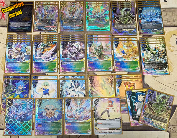 "Future Card Buddyfight Constructed Deck: (Star Dragon World) ""Prism Dragon"" *Competitive series*"""