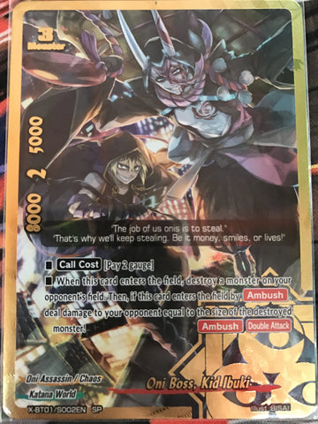X-BT01/S002 (SP) - Oni Boss, Kid Ibuki