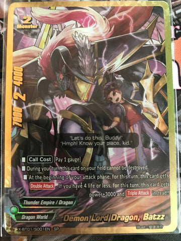 X-BT01/S002 (SP) - Demon Lord Dragon, Batzz