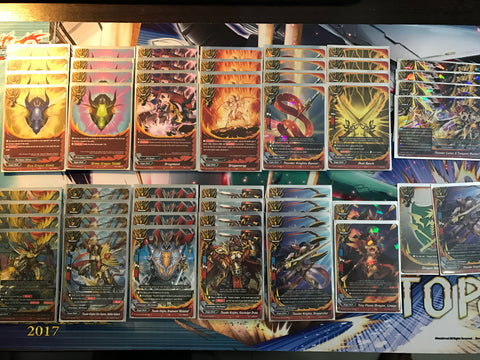 Future Card Buddyfight Constructed Deck: (Dragon World) Thunder Knights