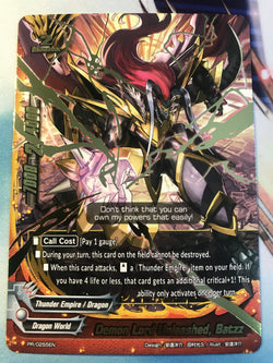 DEMON LORD UNLEASHED, BATZZ (PR)