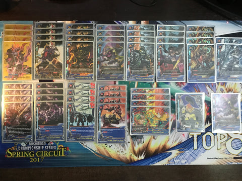 Future Card Buddyfight Constructed Deck: (Hero World) Dark Hero