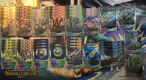"Future Card Buddyfight Constructed Deck: (Star Dragon World) ""Darkness Dragoner, Jackknife"""
