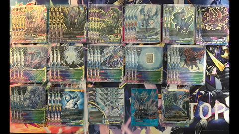 "Future Card Buddyfight Constructed Deck: (Star Dragon World) Prism Dragons, ""Dark Athora"""