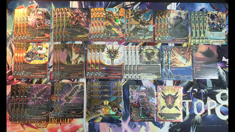 Future Card Buddyfight Constructed Deck Thunder Emperors Fangs