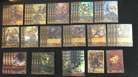 Future Card Buddyfight Constructed Deck: (Danger World) Duel Golems