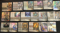Future Card Buddyfight Constructed Deck: (Dungeon World) Dual Wield Knights
