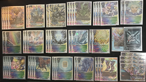 "Future Card Buddyfight Constructed Deck: (Star Dragon World) Heavenly Crystal Dragon, Aldo Athora ""Adamant"""