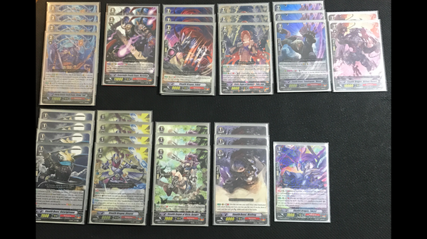 "[English] Cardfight Vanguard Constructed Deck: (Nubatama) ""Shiranui"" Domination Deck"