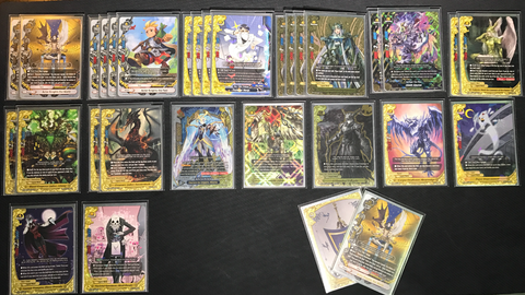 "Future Card Buddyfight Constructed Deck: (Legend World) ""THE WORLD"" Time stop loop deck"