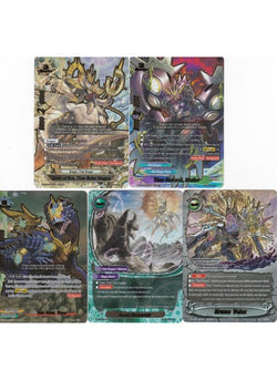 Deity of Eon, Time Ruler Dragon (5 Card Secret Pack) S-BT07