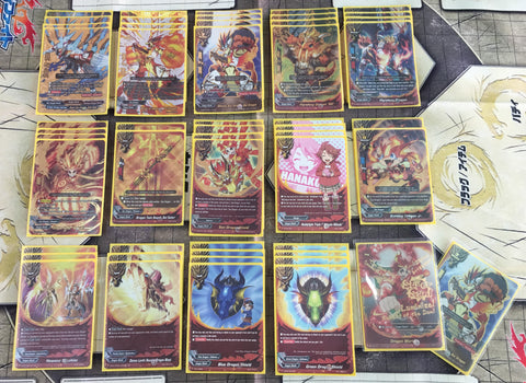 Future Card Buddyfight Constructed Deck: (Dragon World) Sun Dragons, Bal Dragon