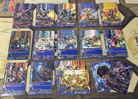 "Future Card Buddyfight Constructed Deck: (Hero World) ""Battle Poets"""