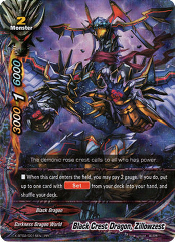 BLACK CREST DRAGON, ZILLOWZEST (RR)