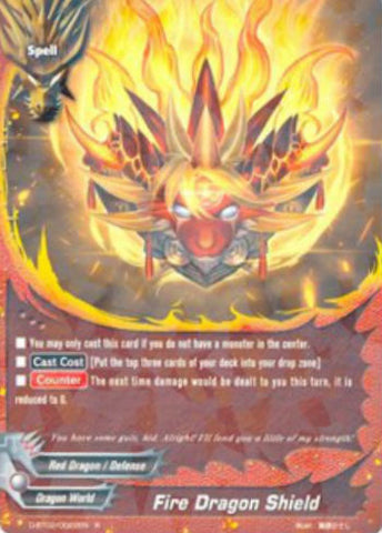 X-BT01A-CP01/0063 Fire dragon shield (C)