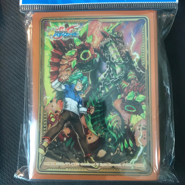 "Japan exclusive BuddyFight Ace sleeve collection : ""Masato & King Agito"""