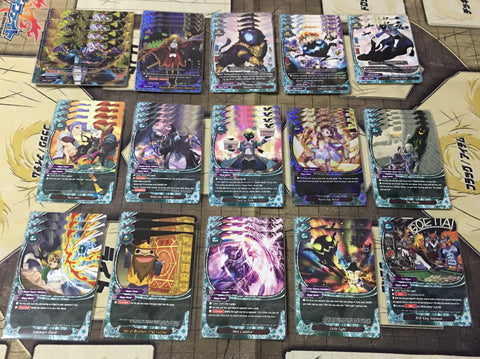 "Future Card Buddyfight Constructed Deck: (Magic World) ""Shadow Shades"""